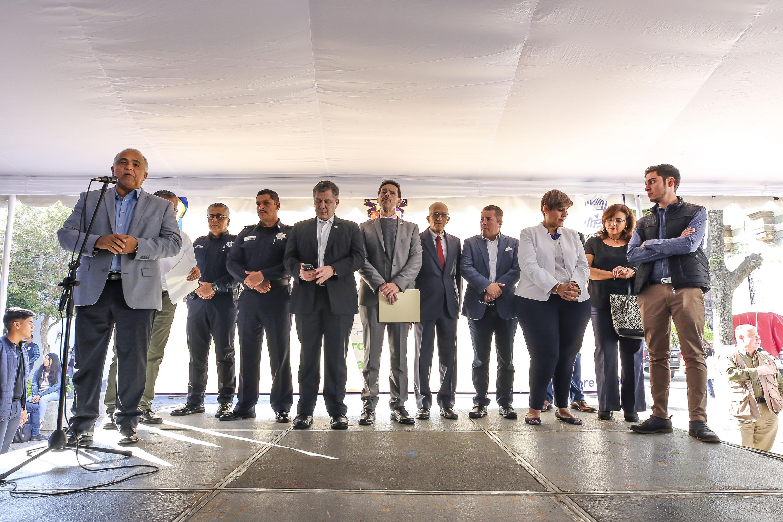 En la Rambla Cataluña, se realizó este jueves la muestra Expourbanismo 2019-B, en la que fueron presentados 100 proyectos de rehabilitación urbana