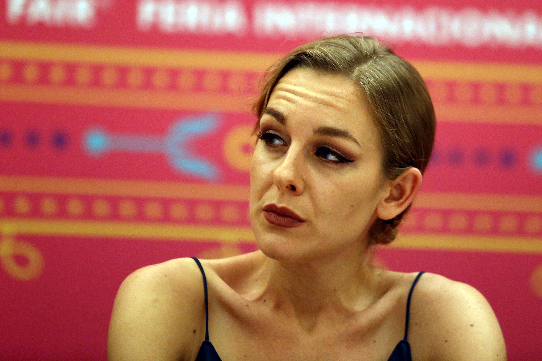 La escritora Ysé Bourdon