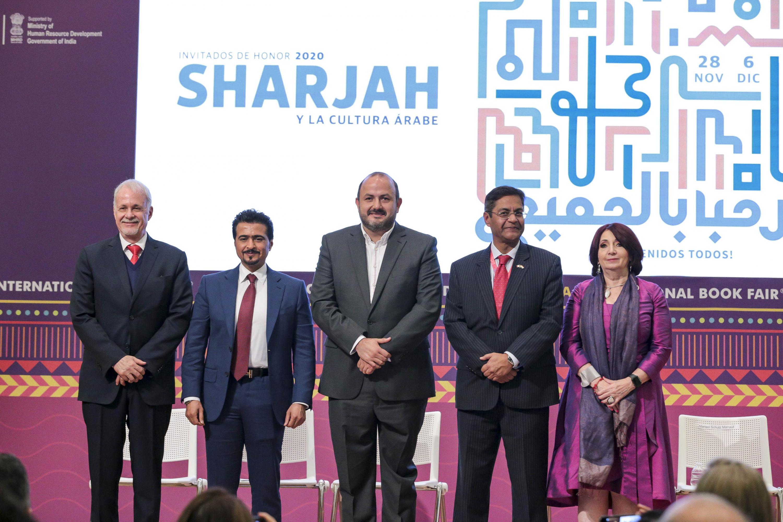 Autoridades universitarias y de gobierno en La Feria Internacional del Libro de Guadalajara (FIL) tendrá como invitado de honor al Emirato de Sharjah