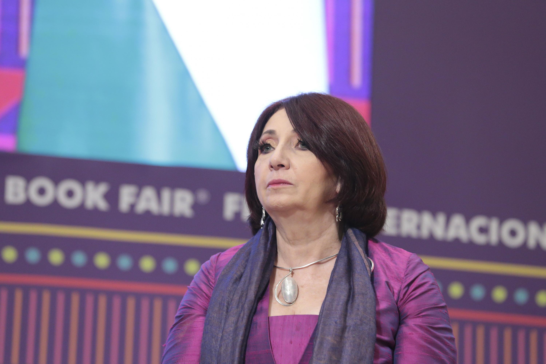 La Directora General de la FIL, maestra Marisol Schulz Manaut
