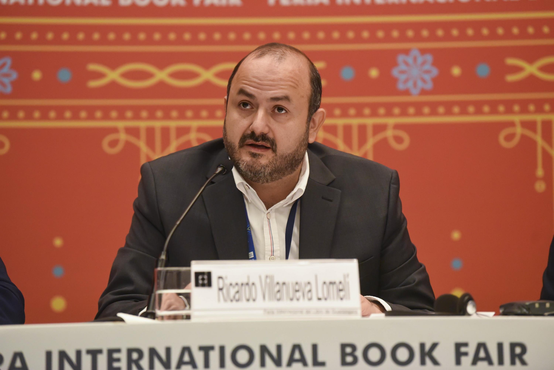 El Rector General de la UdeG, doctor Ricardo Villanueva Lomelí