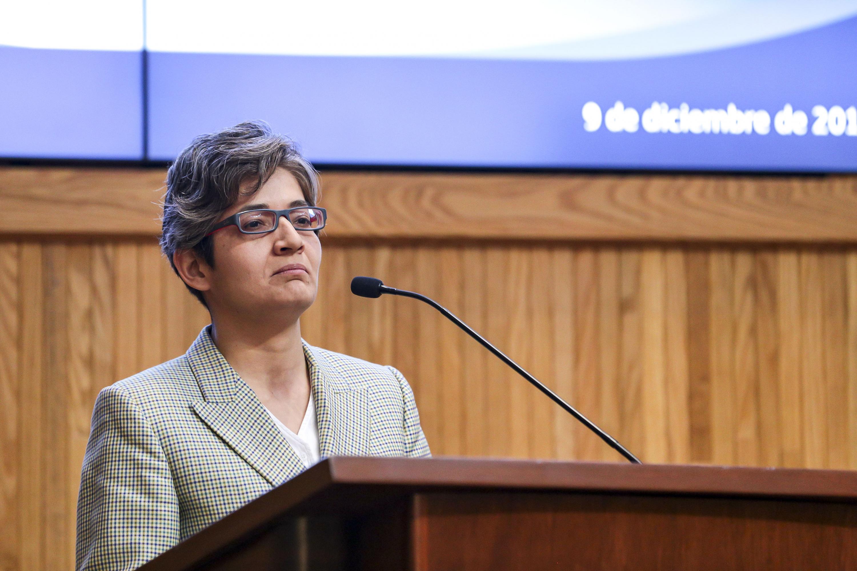 La Defensora de los Derechos Universitarios de la UNAM, doctora Guadalupe Barrena Nájera