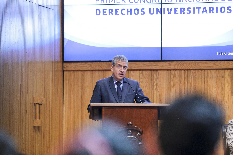El Vicerrector Ejecutivo de esta Casa de Estudio, doctor Héctor Raúl Solís Gadea
