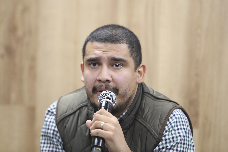 El profesor del Departamento de Comunicación y Psicología del Centro Universitario de la Ciénega (CUCiénega), maestro Diego Noel Ramos Rojas