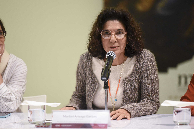 La Directora del museo, maestra Maribel Arteaga Garibay
