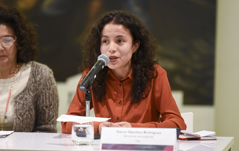 La doctora Sayuri Sánchez Rodríguez
