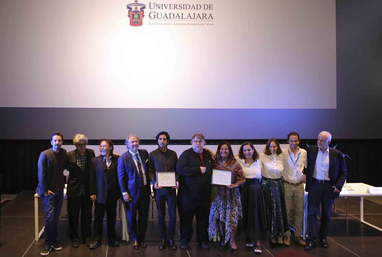 La Fundación Mary Street Jenkins, el Patronato del Festival Internacional de Cine en Guadalajara (FICG), la Universidad de Guadalajara (UdeG), la Fundación Universidad de Guadalajara y el director de cine Guillermo del Toro
