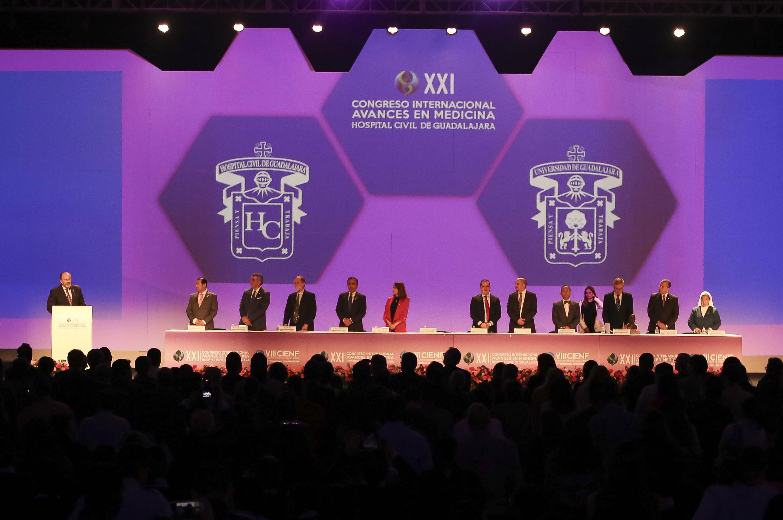 Inauguración del Congreso Internacional de Avances en Medicina (CIAM 2019)