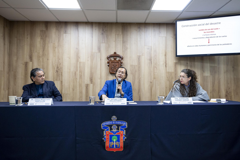 Rueda de prensa para analizar el impacto en Jalisco de fenómenos climatológicos ocurridos en 2019