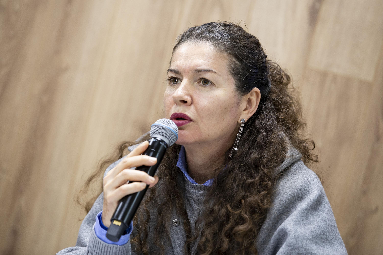 La doctora Guadalupe Garibay Chávez, del CUCBA