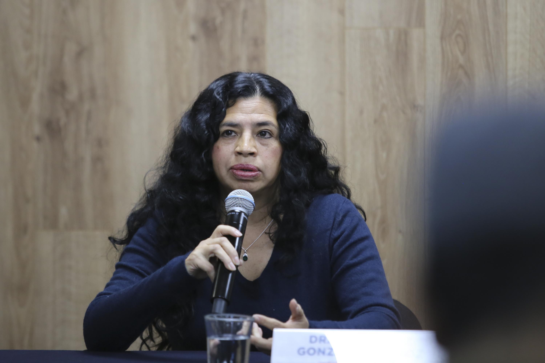 La Coordinadora de la Maestría en Ergonomía, del Centro Universitario de Arte, Arquitectura y Diseño (CUAAD), doctora Elvia Luz González Muñoz