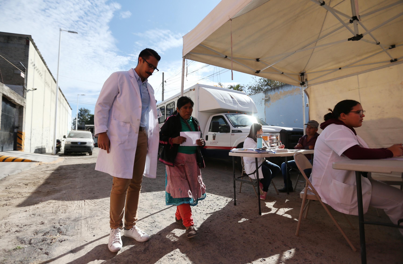 Como parte de la serie de Jornadas de Salud que realiza la Unidad de Atención a Comunidades Indígenas (UACI) de la UdeG