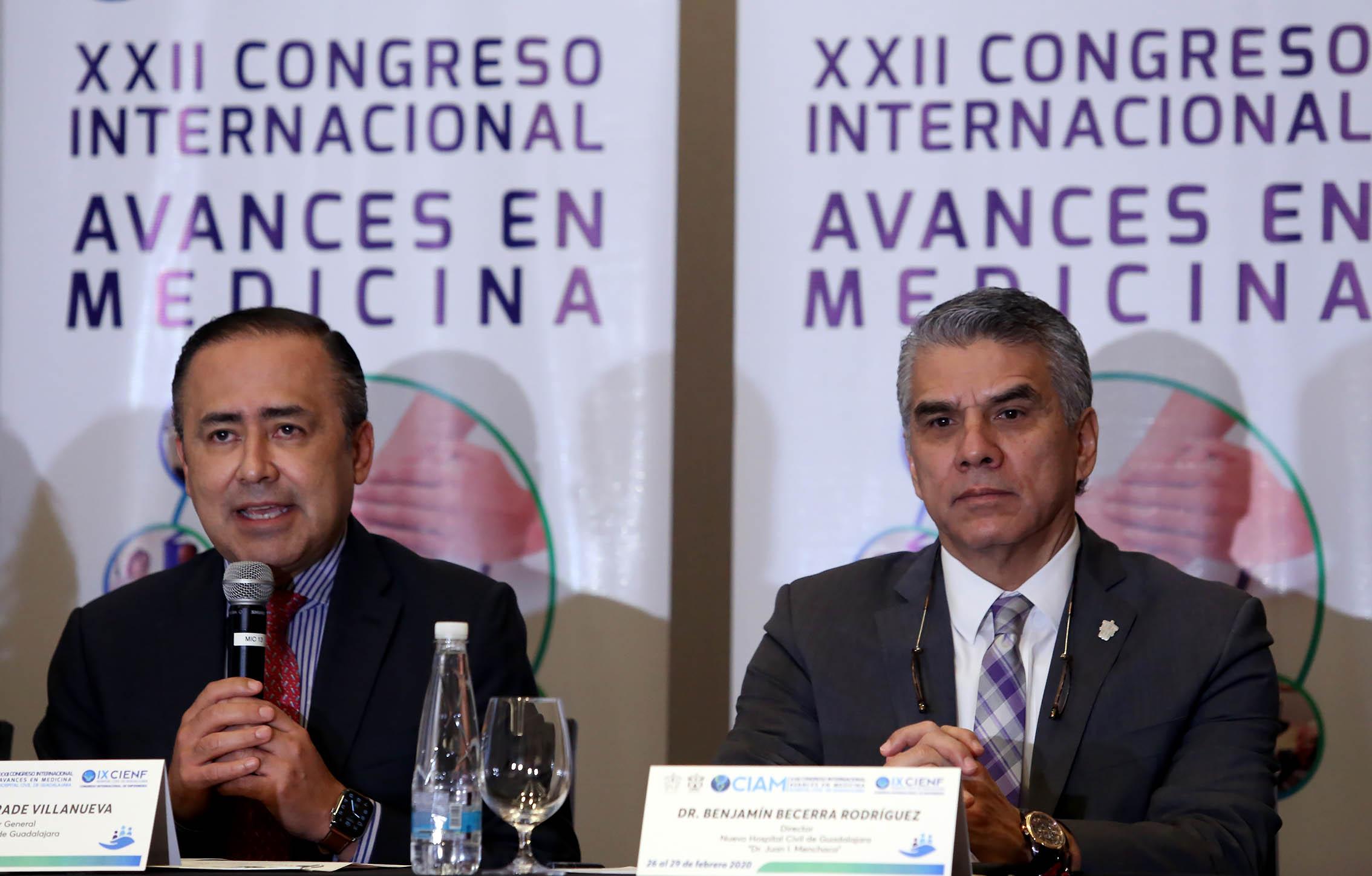Dr Jaime Andrade Villanueva, Dr Benjamin Becerra Rodríguez