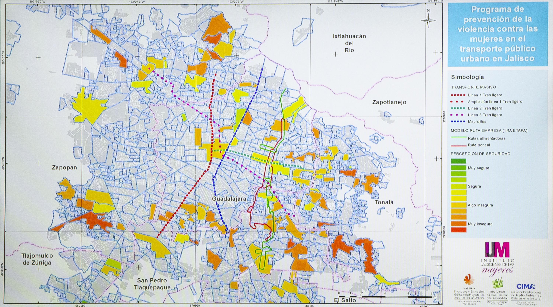Estudios revelan que en 83 por ciento del territorio de la ciudad se genera violencia comunitaria contra ellas