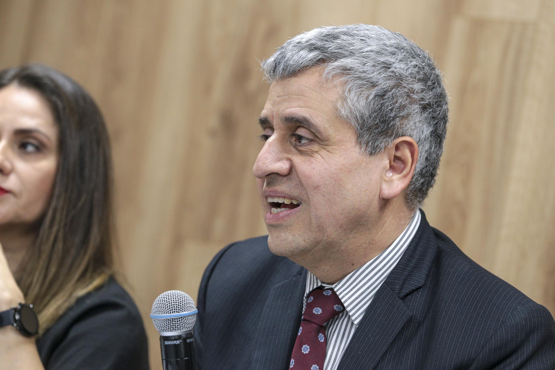 El Vicerrector Ejecutivo, doctor Héctor Raúl Solís Gadea