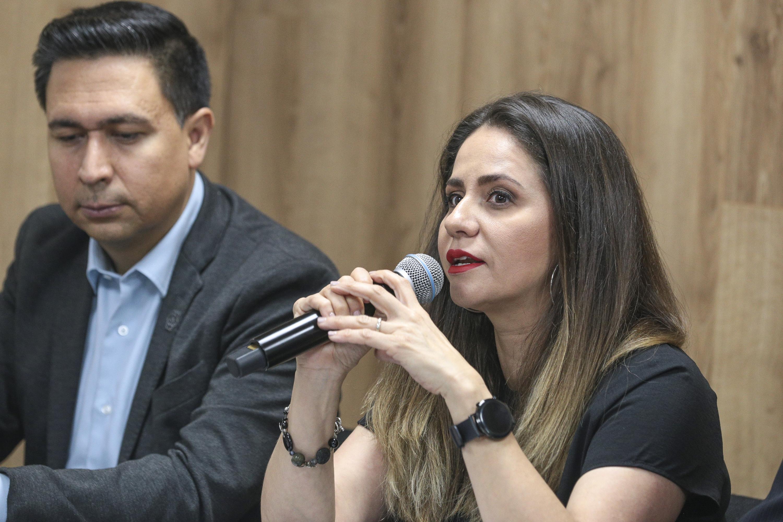 La Coordinadora de Innovación, Posgrado y Vinculación (CGIPV), doctora Carmen Margarita Hernández Ortiz
