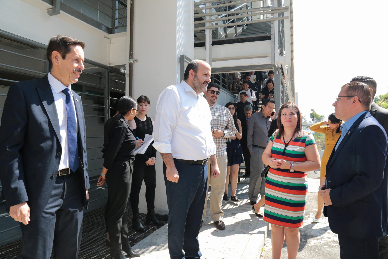 Rinde su primer informe de actividades el Rector del centro, doctor Francisco Javier González Madariaga