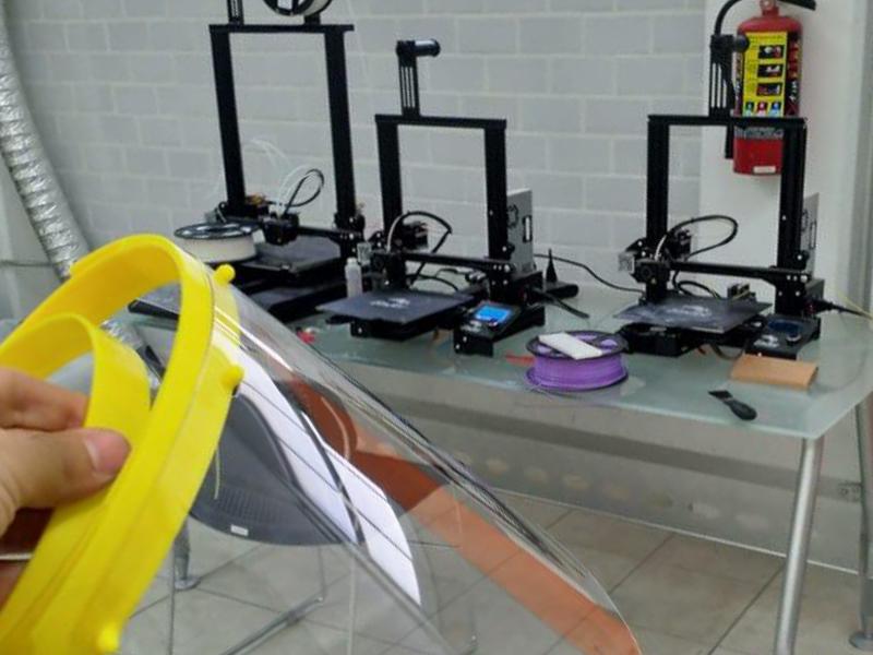 Laboratorios de Fabricación Digital (FabLab) para la elaboración de material de uso médico para apoyar a diversas instituciones de salud frente a la contingencia