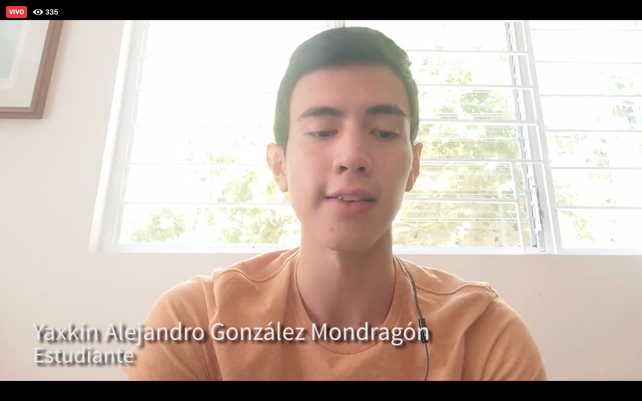 El estudiante, Yaxkin Alejandro González Mondragón