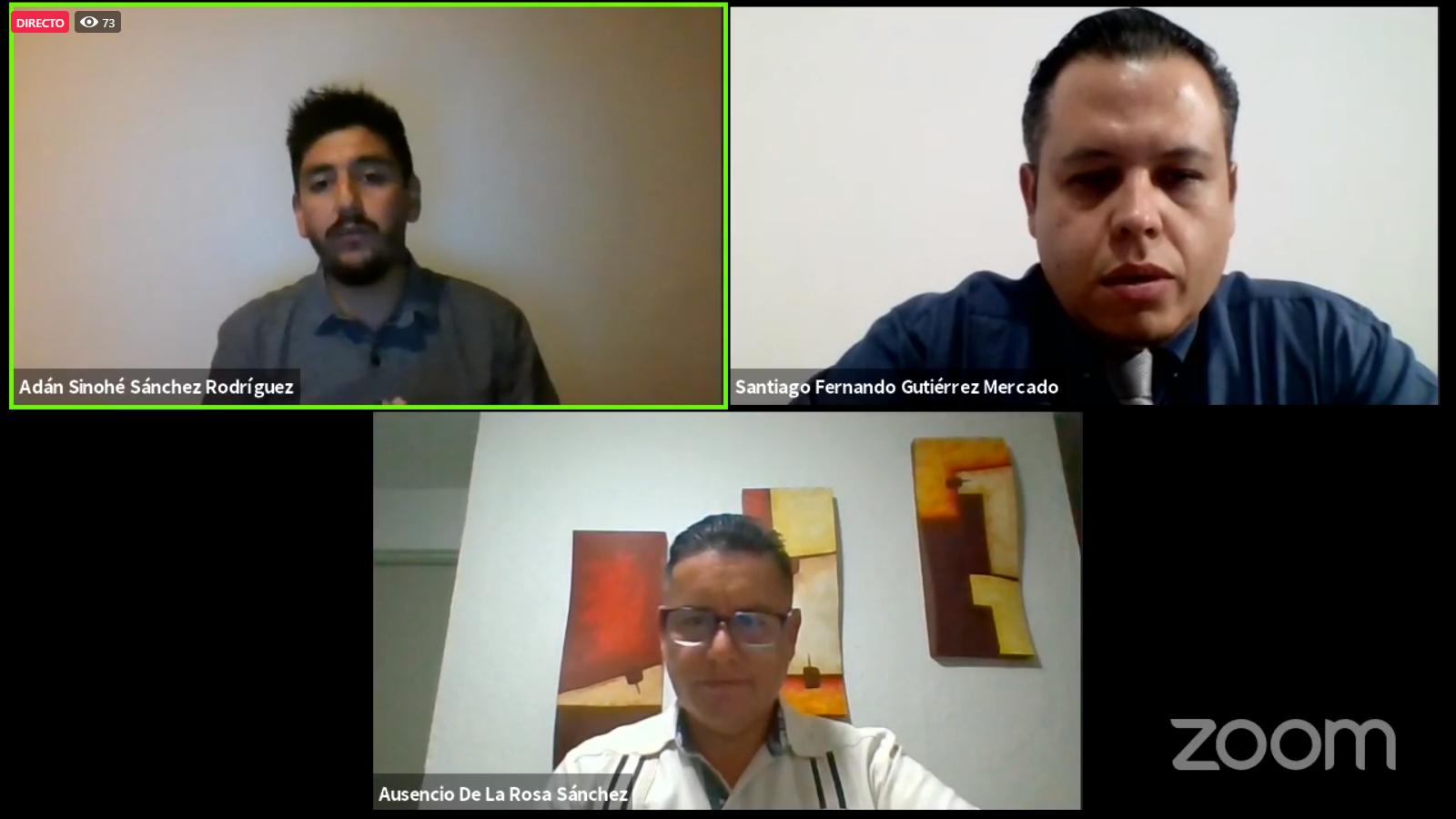 Conferencia virtual (webinar) organizada por UDGVirtual