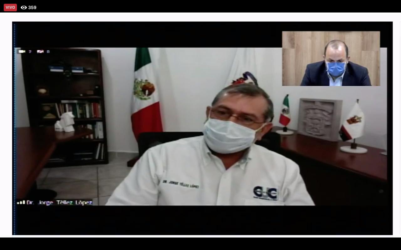El Rector del CUCosta, doctor Jorge Téllez López