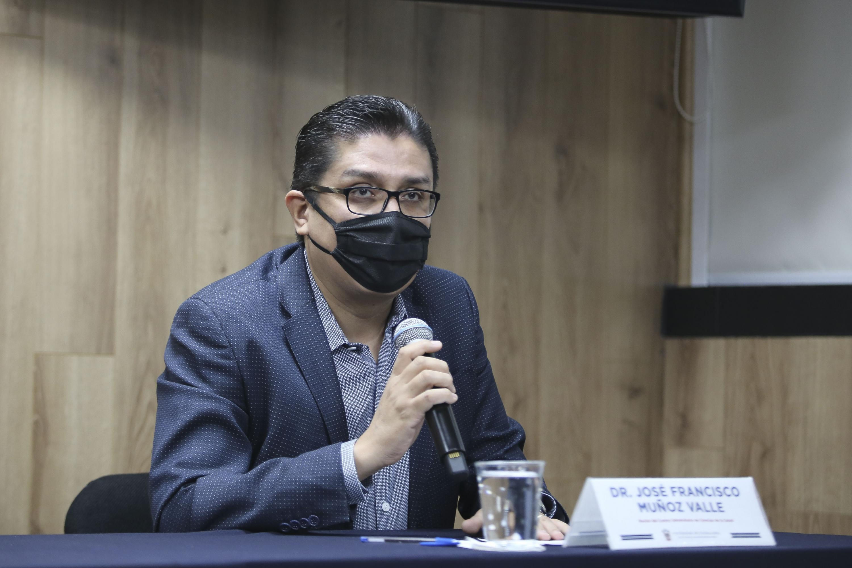 El Rector del Centro Universitario de Ciencias de la Salud (CUCS), doctor Francisco Muñoz Valle