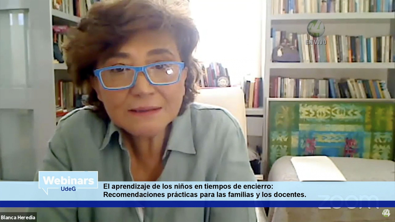 La profesora, investigadora y Directora del Programa Interdisciplinario sobre Política y Prácticas Educativas, doctora Blanca Heredia Rubio