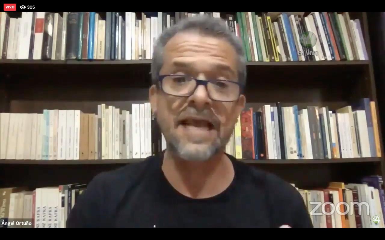 """Escritores participan en webinar """"Covid-19 y la literatura"""", a través de los medios de la UdeG"""