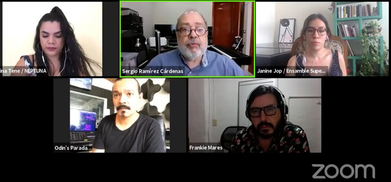 """Mesa de diálogo """"Músicos e intérpretes. Ideas sobre la creatividad y supervivencia"""""""