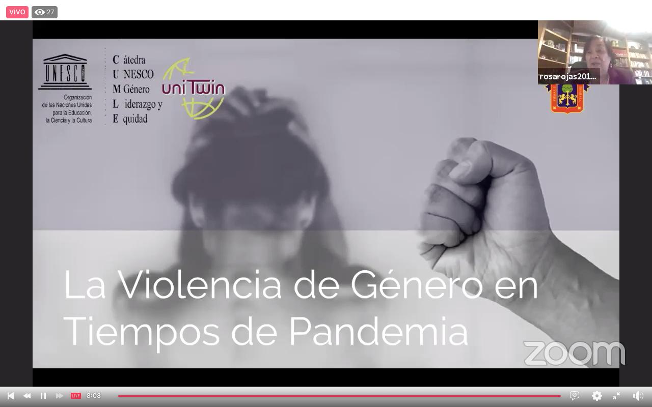 """El webinar """"La violencia de género en tiempos de pandemia"""", organizado por CUCEA"""