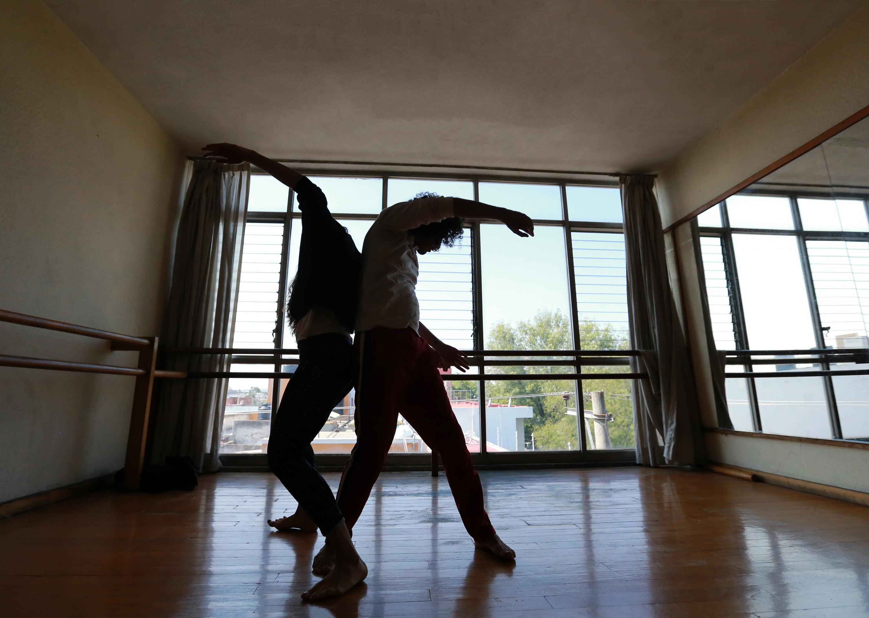Bailarines profesionales