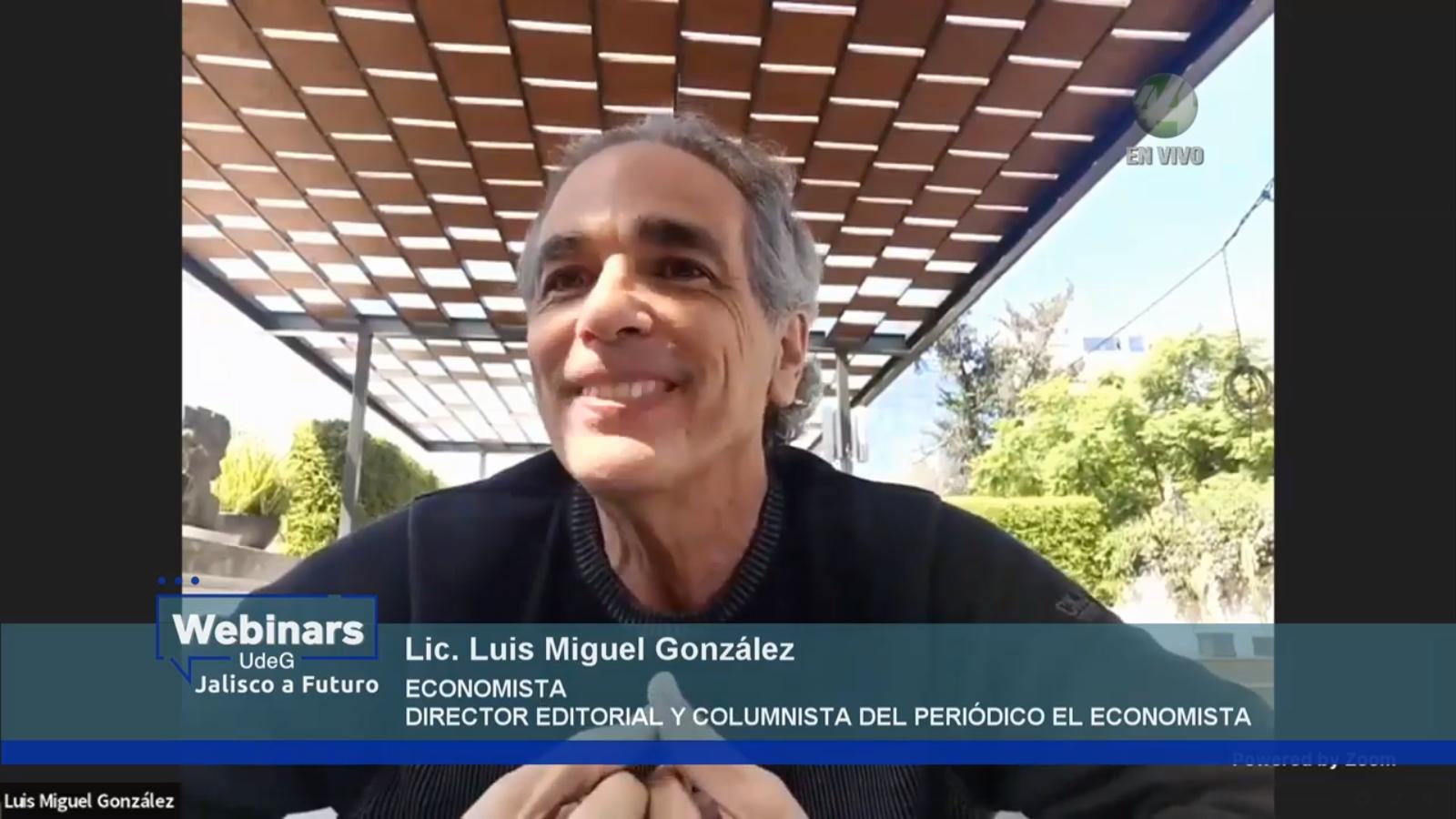 El Director editorial del diario El Economista, Luis Miguel González