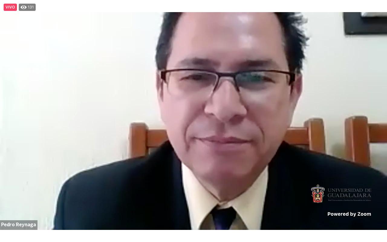 El doctor Pedro Reynaga Estrada, Jefe del Laboratorio de Psicología de la Actividad Física y del Deporte, de la Universidad de Guadalajara (UdeG)
