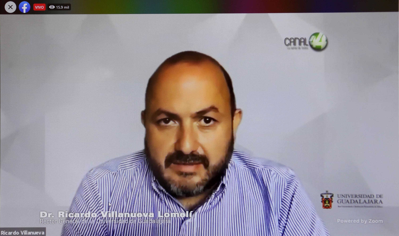 El Rector General de esta Casa de Estudio, doctor Ricardo Villanueva Lomelí
