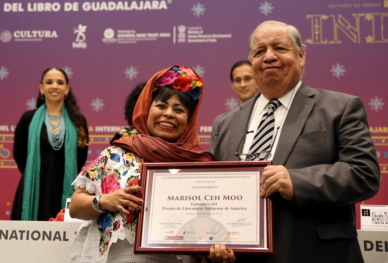 La escritora yucateca Marisol Ceh Moo ganadora del PLIA 2019
