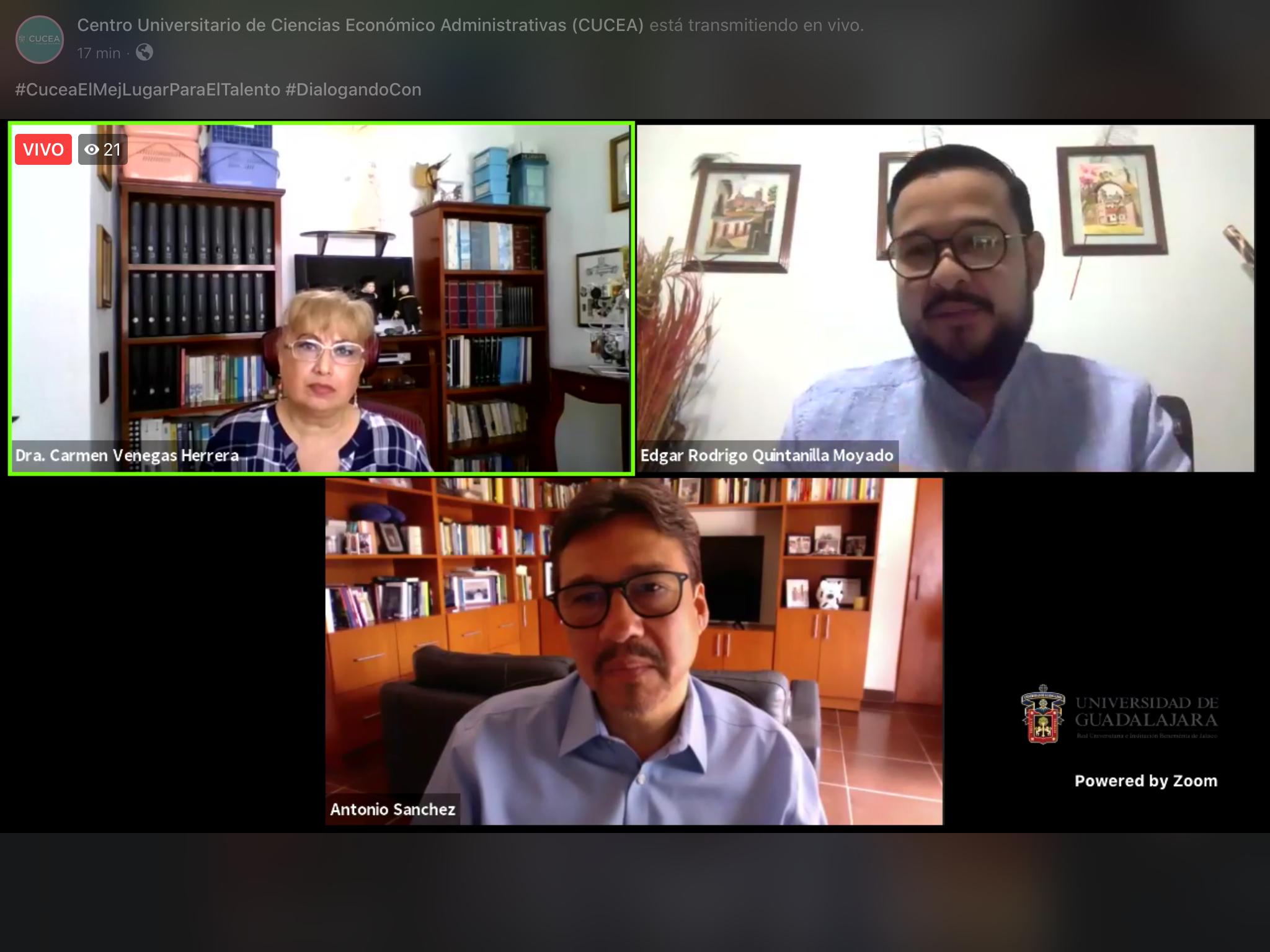 Realiza CUCEA charla acerca de las causas de la segregación en el área conurbada de Guadalajara