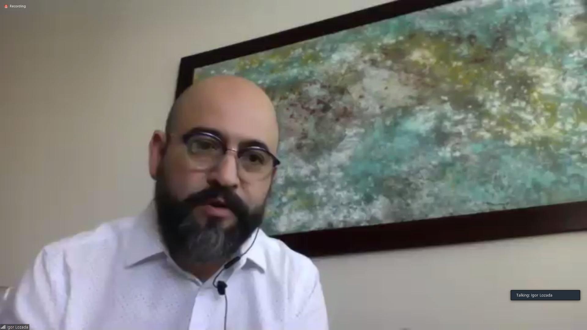 """El Secretario de Vinculación y Difusión Cultural (Cultura UDG), licenciado Ángel Igor Lozada Rivera Melo, agradeció a las empresas y artistas que se han sumado a """"Música México COVID-19"""""""