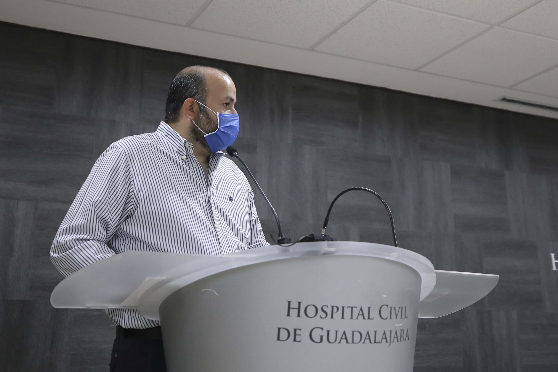 La empresa Hewlett Packard hizo este miércoles 2 de septiembre un donativo de 69 mil dólares (equivalente a millón y medio de pesos) al OPD Hospital Civil de Guadalajara