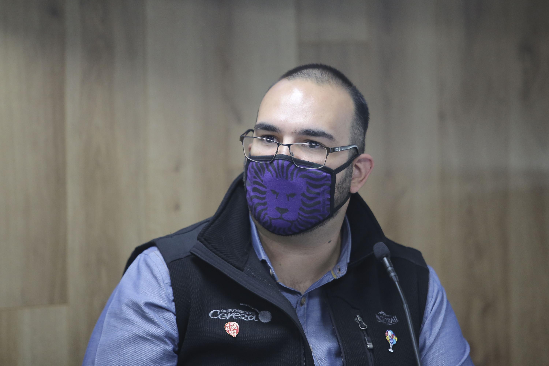 El Coordinador de Análisis de Datos de la FEU, Armando Cárdenas Covarrubias
