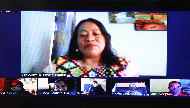 La poeta Juana Karen Peñate Montejo fue elegida, por unanimidad, como ganadora del Premio de Literaturas Indígenas de América en su octava edición