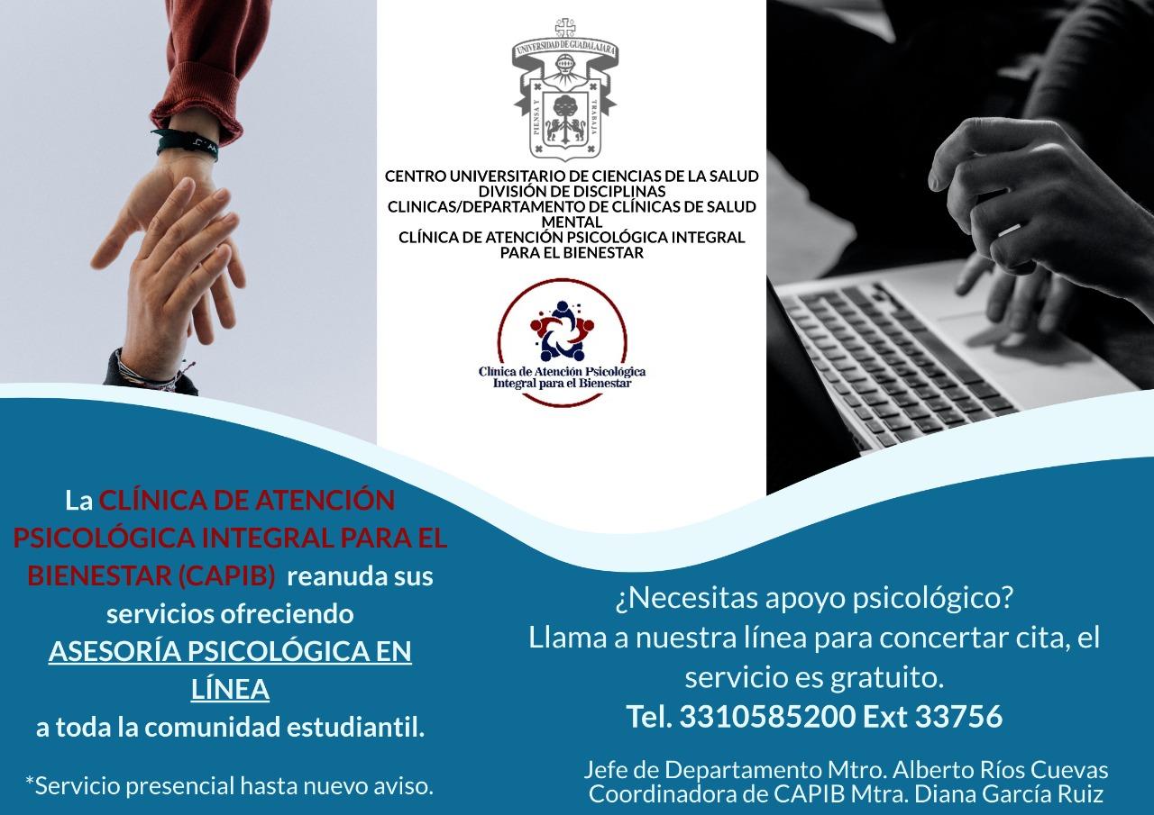 La asesoría en línea está dirigida a estudiantes de la UdeG