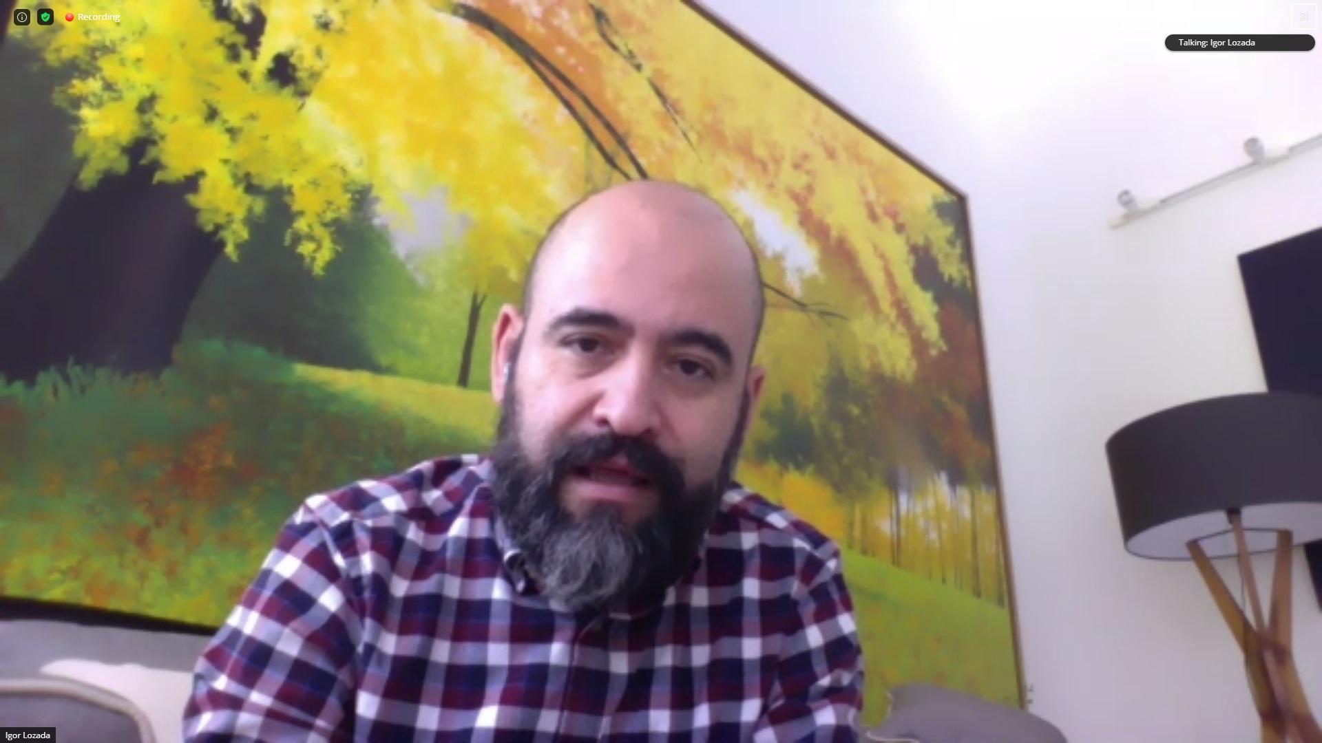 El Secretario de Vinculación y Difusión Cultural de la Universidad de Guadalajara (UdeG), maestro Igor Lozada Rivera de Melo