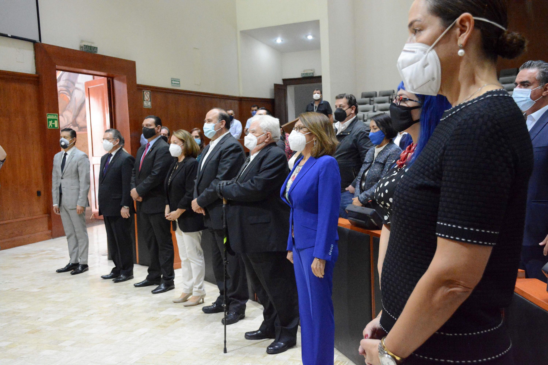 La Rectora del Sistema de Universidad Virtual, doctora María Esther Avelar Álvarez, fue elegida nuevamente como miembro de dicha comisión para el período 2020-2023