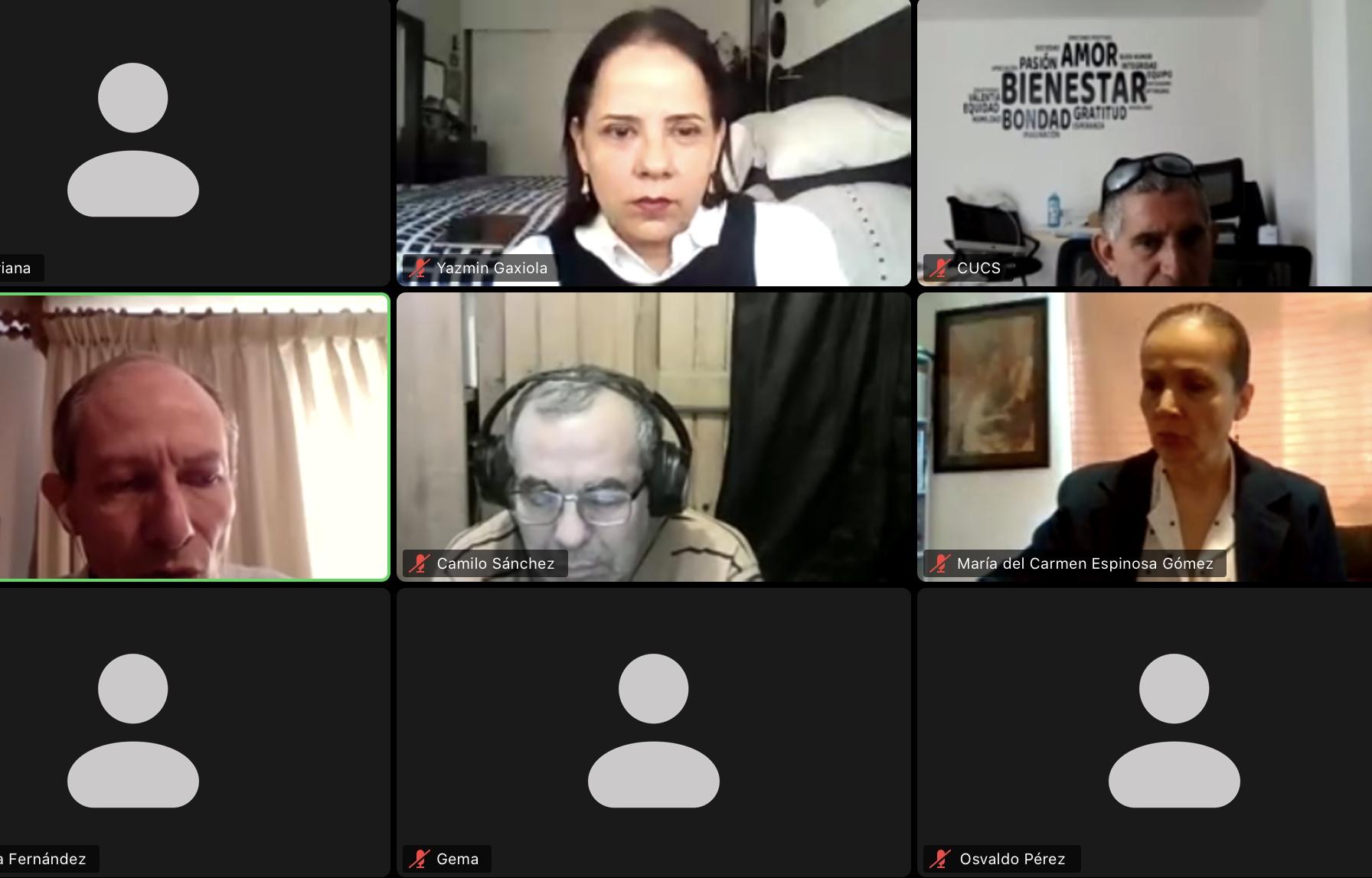 """Inicia el conversatorio """"Retos actuales en la salud mental"""", organizado por el CUCS"""