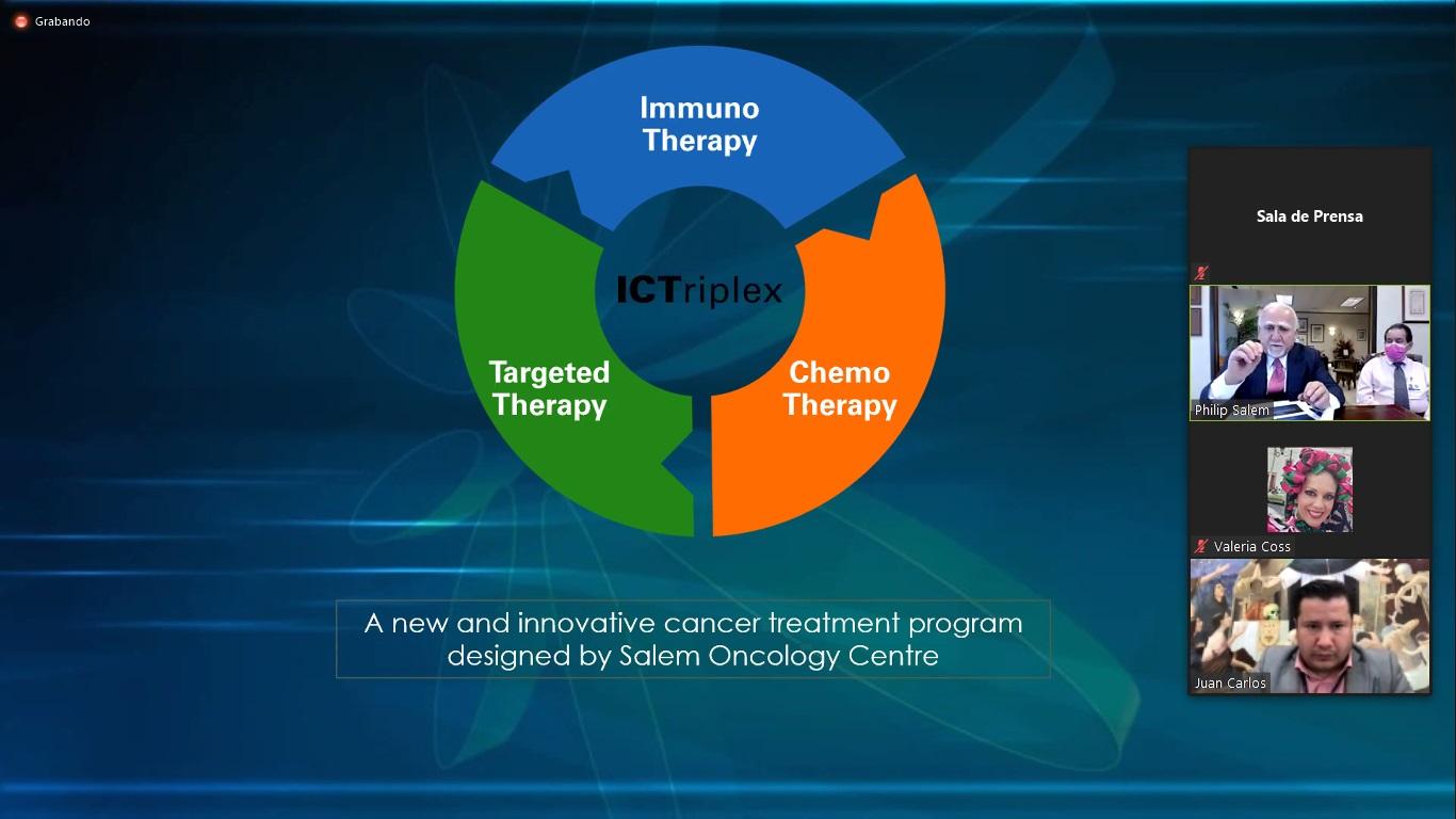 """Realiza HCG webinar """"Avances en el diagnóstico y tratamiento del cáncer de mama"""""""