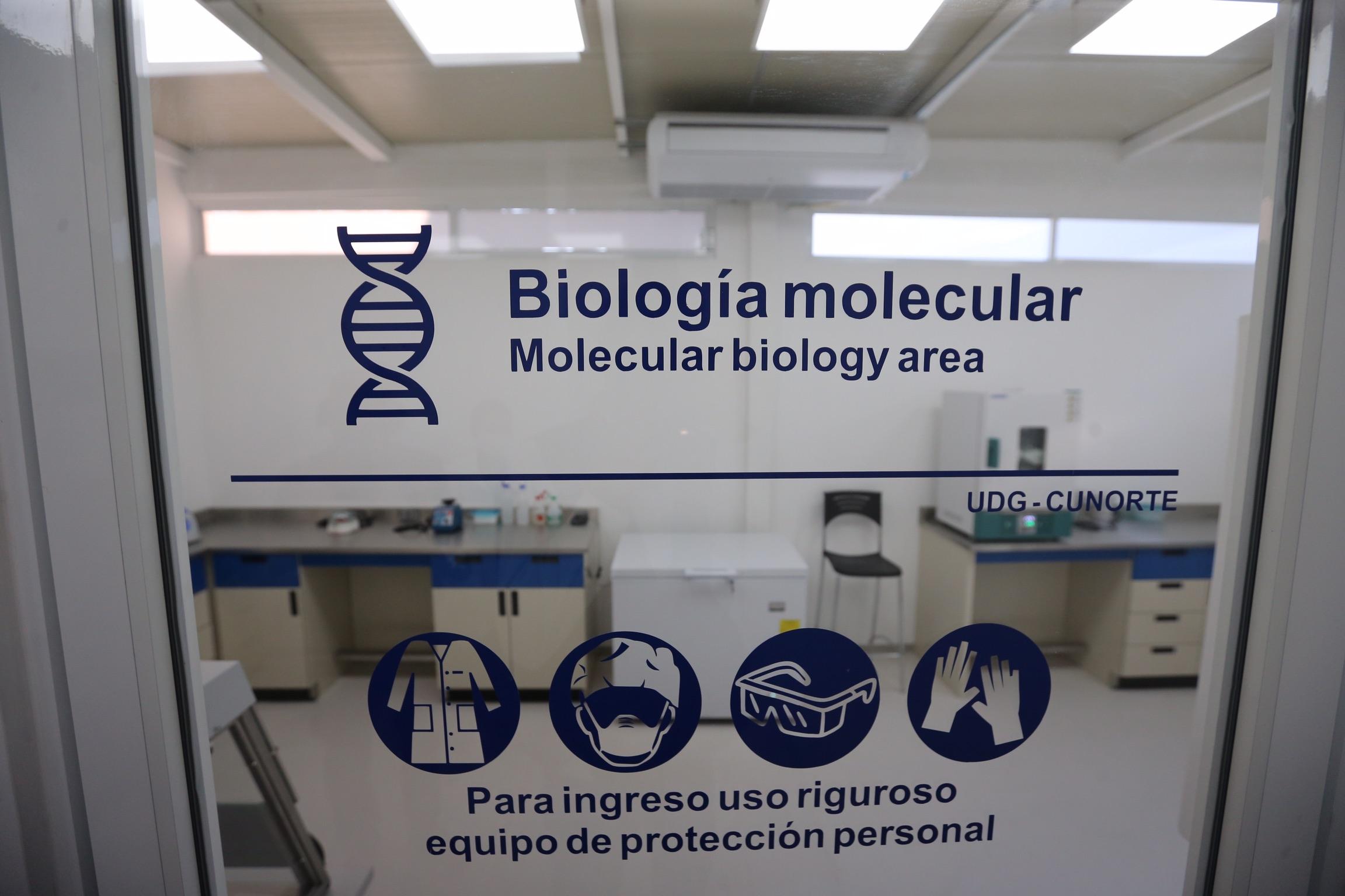 El Laboratorio de Análisis y Determinación Molecular realizará 30 pruebas diarias, con cobertura en municipios del Norte de Jalisco y Sur de Zacatecas