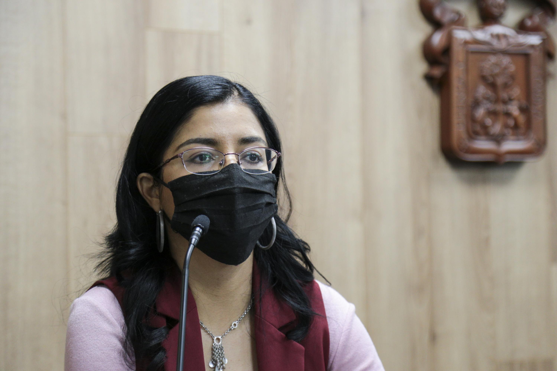 La investigadora del CUTonalá, María Guadalupe Ramírez Contreras