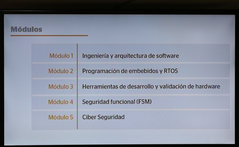 En conjunto con dos empresas ofrecerá el Diplomado de Software Embebido, cuyas inscripciones cierran el 12 de noviembre