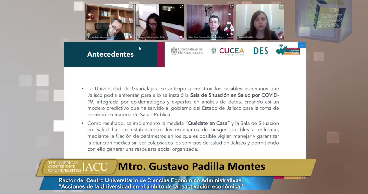 Participan especialistas de esta Casa de Estudio en Conferencia Anual de The Americas Conference Universities