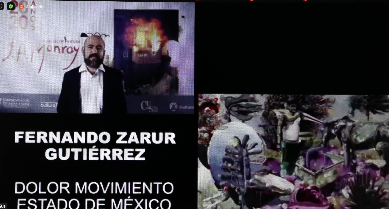 Dan a conocer ganadores de V Bienal de Pintura José Atanasio Monroy